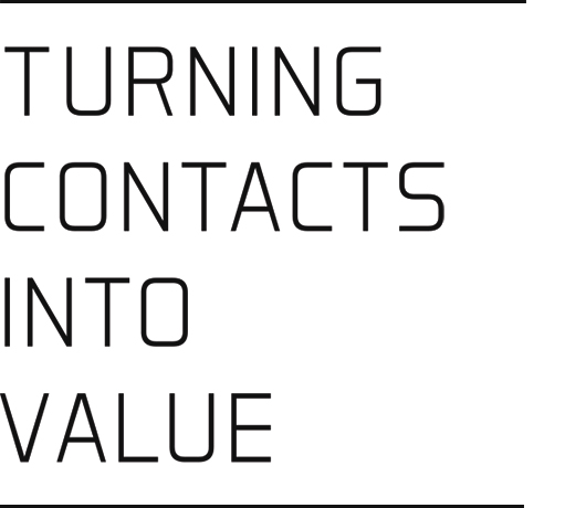 Turning Contacts Into Value